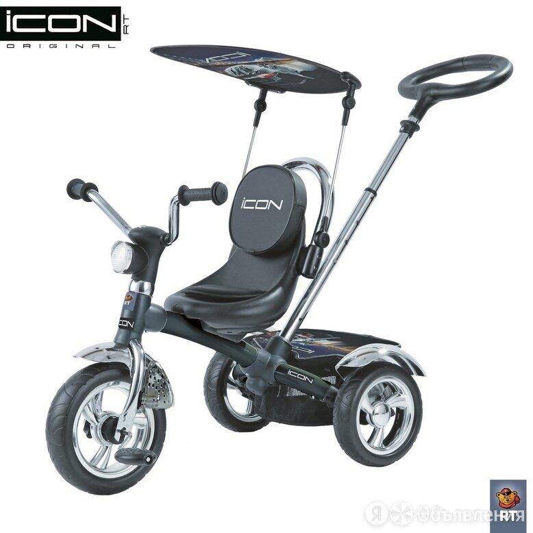 Трехколесный велосипед Icon 4 RT original (матовый черный) по цене 7790₽ - Трехколесные велосипеды, фото 0