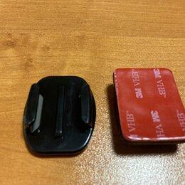 Аксессуары для экшн-камер - Плоское, изогнутое крепление для GoPro, 0