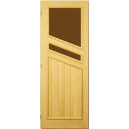 Двери - Посад Дверь вагонка 2 стекла (левая), 0