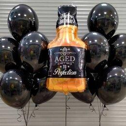 Воздушные шары - Набор с виски, 0