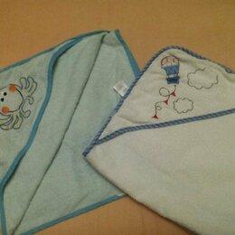 Полотенца - Полотенце с уголком Mothercare 2 шт махра, 0