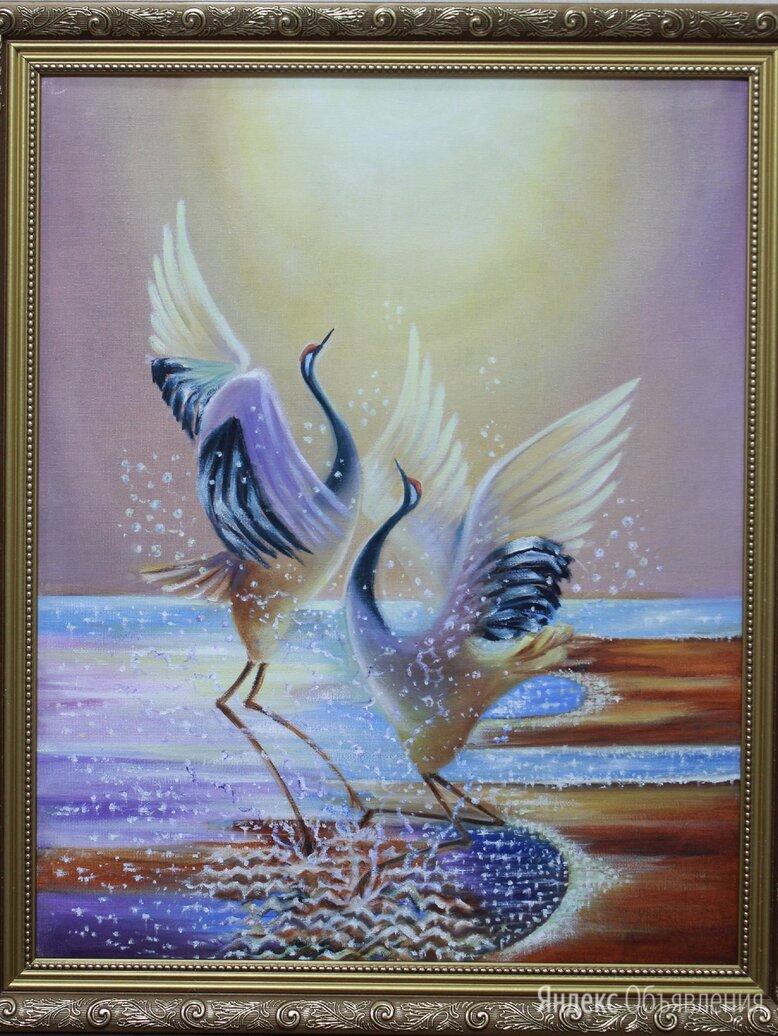 """Картина """"Танец любви"""" (холст, масло) по цене 4000₽ - Картины, постеры, гобелены, панно, фото 0"""