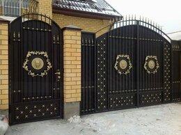 Заборы и ворота - Кованые ворота с калиткой, 0