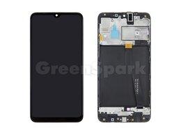 Дисплеи и тачскрины - Дисплей для Samsung A105F Galaxy A10 в рамке +…, 0
