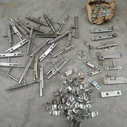Защелки и завертки - Шпингалеты 30-штук, металлические. , 0