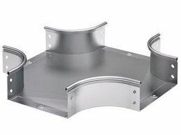 Кабеленесущие системы - DKC Ответвитель DPX крестообразный 500х100, нерж., 0