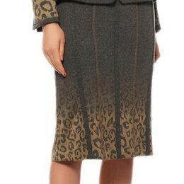 Юбки - Новая Basler Германия шерстяная юбка миди прямая…, 0