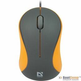 Мыши - Мышь Defender MS-970 серый+оранжевый, 0