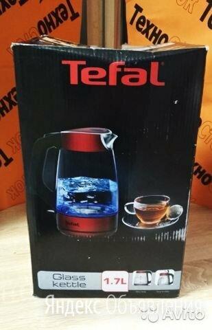 Чайник Tefal glass kettle KI520530 по цене 2200₽ - Электрочайники и термопоты, фото 0