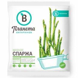 Ингредиенты для приготовления напитков - Спаржа Едим дома свежемороженная 400 г, 0