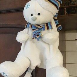 Хранение игрушек - Рюкзак новогодний медведь для подарков, 0