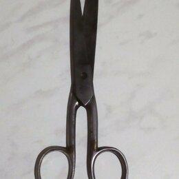 Другое - Ножницы старинные с клеймом 19 см, 0