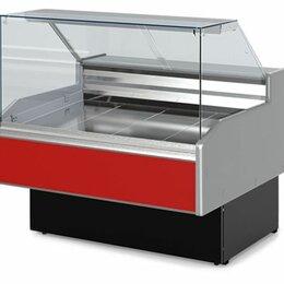 Мебель для учреждений - Витрина холодильная Двина-QS150ВСН (-6+6С) 1680х1080х1250 мм, 0