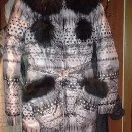 Куртки и пуховики - Пуховое пальто ,Польша 42-44,Одевала 2раза., 0