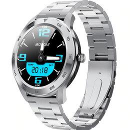 Умные часы и браслеты - Новые смарт-часы. Микрофон, карбон, металл, датчики, 0