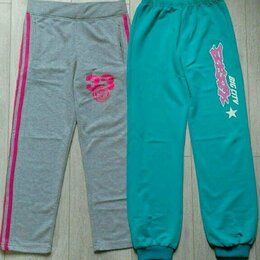Брюки - Спортивные штаны для девочки р. 128-134., 0
