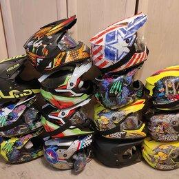 Спортивная защита - Детский, Шлем мотокроссовый, размер S, обхват 54-56, 0