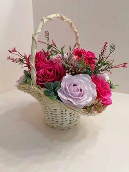 Цветы, букеты, композиции - Букет цветов из мыльных роз, 0
