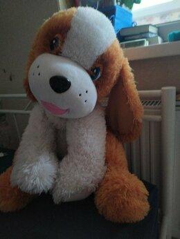 Мягкие игрушки - Мягкая, большая, плюшевая, игрушка собака., 0