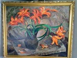 Картины, постеры, гобелены, панно - Натюрморты.Цветы.Заслуженный художник., 0