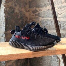 Кроссовки и кеды - Adidas Yeezy Boost 350 V2 Black Red, 0