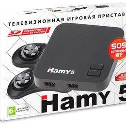 "Игровые приставки - Приставка игровая ""Hamy 5""(505-in-1) Black, 0"