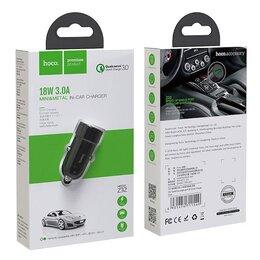 Зарядные устройства и адаптеры - Автомобильный блок питания Hoco Z32 QC3.0…, 0