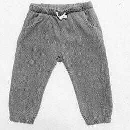 Брюки - Спортивные штаны тёплые на 1-1,5 года, 0