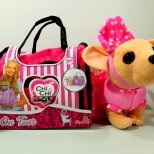 Мягкие игрушки - Собачка Чичилав в сумке 4573, 0