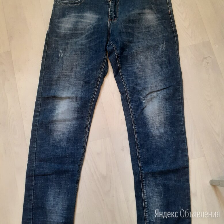 Продам джинсы состояние отличное единственное нужно поменять на ширинке замок по цене 450₽ - Джинсы, фото 0