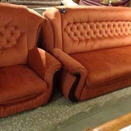 Диваны и кушетки - Диван и кресло в стиле прованс, 0