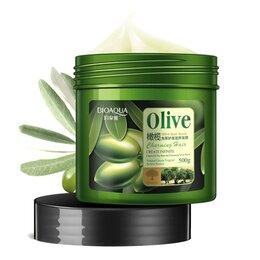 Маски и сыворотки - Маска для роста волос с маслом оливы, 0