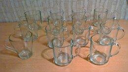 Кружки, блюдца и пары - Кружки из прозрачного стекла 250мл и 350мл., 0
