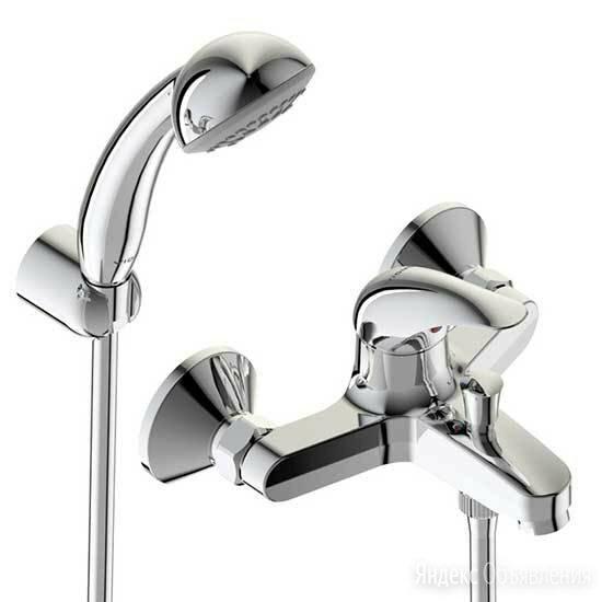 Смеситель для ванны и душа Vidima ORION BA004AA с душевой лейкой по цене 6085₽ - Смесители, фото 0