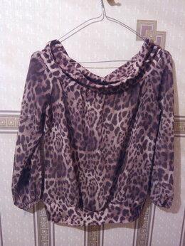 Блузки и кофточки - Леопардовая блузка, 0