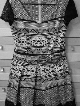 Платья - Платье новое 46 р., хлопок, 0