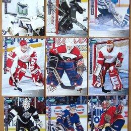 Спортивные карточки и программки - Коллекционные карточки Хоккей Вратари НХЛ, 0
