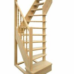 Лестницы и элементы лестниц - Лестница деревянная, 0