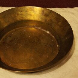 Казаны, тажины - тазик медный 31см в диаметре, 0