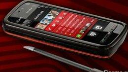 Мобильные телефоны - Новый NOKIA 5800 XpressMusic Black Red (Ростест,…, 0