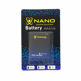 Аккумуляторы - Аккумулятор (АКБ) Nano EB-L1G6LLU для Samsung Galaxy S III (i9300) / Grand (I908, 0