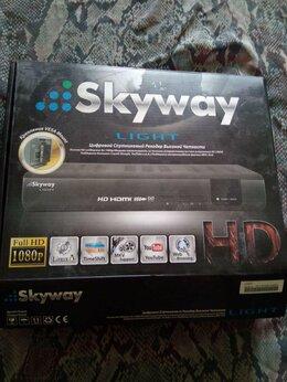 Спутниковое телевидение - Спутниковый приёмник (рессивер) Skyway light., 0