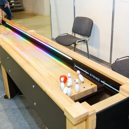 Игровые столы - настольный боулинг  Bowling Pro, 0
