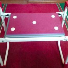 Скамейки - Скамейка перевёртыш садовая Nika до 100 кг складная с мягким сиденьем, 0