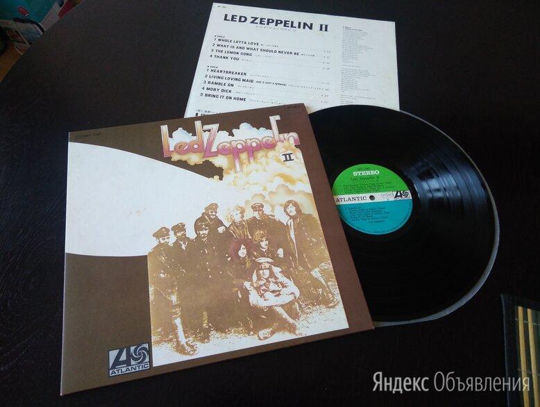 Led Zeppelin – Led Zeppelin II 1969 Japan Original A-2-2, B-1-1 ex+/ex+ по цене 6000₽ - Виниловые пластинки, фото 0
