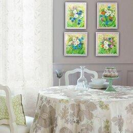 """Картины, постеры, гобелены, панно - Нинина картина """"Прованс № 2. Ромашки и цикорий"""", 0"""