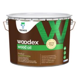 Масла и воск - Масло для дерева Teknos Woodex Wood Oil серый 9л, 0