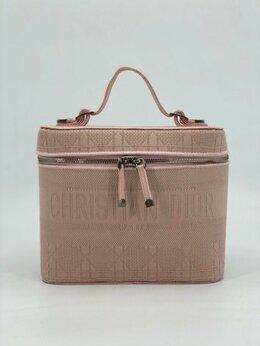 Косметички и бьюти-кейсы - Косметичка Christian Dior текстиль розовая…, 0