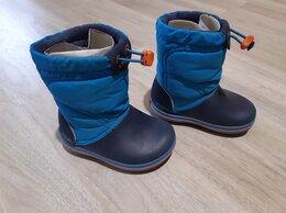 Сноубутсы, дутики - Сноубутсы Crocs Crocband LodgePoint Boot, 0