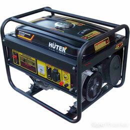 Электрогенераторы - Бензиновый генератор HUTER DY4000L, 0